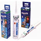 JBL 6139000 AquaSil Speciale siliconen voor aquaria en terraria, 80 ml, zwart