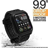 Catalyst Coque pour Montre Apple Watch série 4 40mm Compatible ECG et ECG, avec Bracelet Sport Respirant, Protection Robuste iWatch, étui Apple Watch à l'épreuve des Chocs - Noir