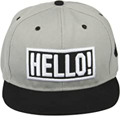 Noise NOICAPSB035 Polyester Say Hello Snapback Cap, Adult (Multicolor)