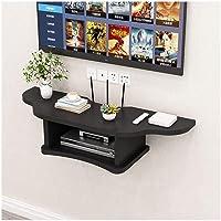SKAFA Engineered Wood TV Entertainment Unit Black ,1 Door