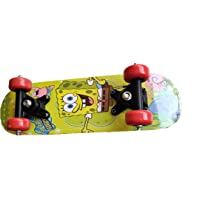 flashtrade Skating Board for Kids Children Play Skateboard Small Size (42cm by 12 cm) has Good Tires and Smooth Boys and…