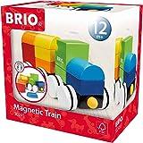 BRIO 30245 Magnettåg ljusa färger   Magnetic Train 11 delar. Leksakståg för de minsta. Från 12 månader. För det lilla barnet.