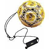 PodiuMax Solo Fußball Kick Trainer | Solo fotbollstränare | elastisk bungee | passar bollstorlek 3/4/5