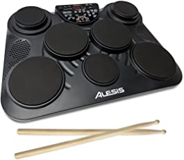 Alesis CompactKit 7 7-Pad Portable Tabletop Drum Kit (Black)