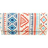 ShopMantra Vector Tribal Ethnic Pattern Printed Multicolor Women's Wallet