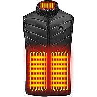 MARIJEE Electric Heated Vest for men,Windproof USB Charging Heated Gilet body heated jacket body warmer for men