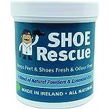 Polvere per scarpe 100g Elimina l'odore di scarpe e piedi Sviluppato da un podologo registrato Shoe Rescue un rimedio deodora