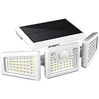FLOWood Lampe Solaire Exterieur, 118 LED Lampe Solaire Extérieur Detécteur de Mouvement, Lampe LED Extérieur Solaire…