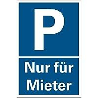 Hinweis-Schild//Text KUNDEN-PARKPLATZ maximale Parkdauer Signalblau, Aufkleber 300x200 mm 1 Stunde mit Parkscheibe Widerrechtlich parkende Fahrzeuge Werden kostenpflichtig abgeschleppt.