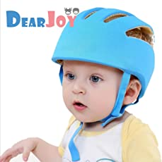 DearJoy Baby Safety Helmet with Corner Guard & Proper Ventilation (Blue)