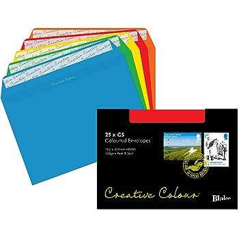 25 Briefumschläge DIN lang 220x110 mm Hell Grün mit Abziehstreifen120g Farbe