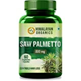 Himalayan Organics Saw Palmetto Extract Capsules for Hair Growth | 800Mg | 60 Veg Capsules (1)