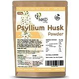 Poudre de cosse de psyllium par NKD Living (500g) | Testé pour les métaux lourds, les micro-organismes et plus de 500 pesticides (500 g)