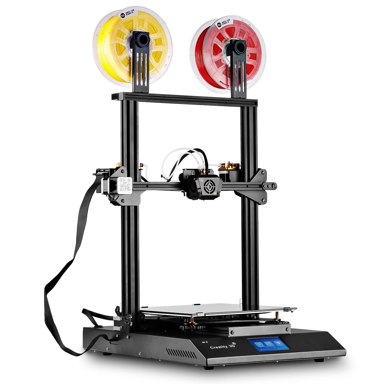 SainSmart x Imprimante 3D CR-X Creality Imprimante 3D intégrée, Semi-assemblée, Couleur à Double Extrusion, Dimensions d'impression massives 300 x 300 x 400 mm (11,8 x 11,8 x 15,8 po, 2e Version)
