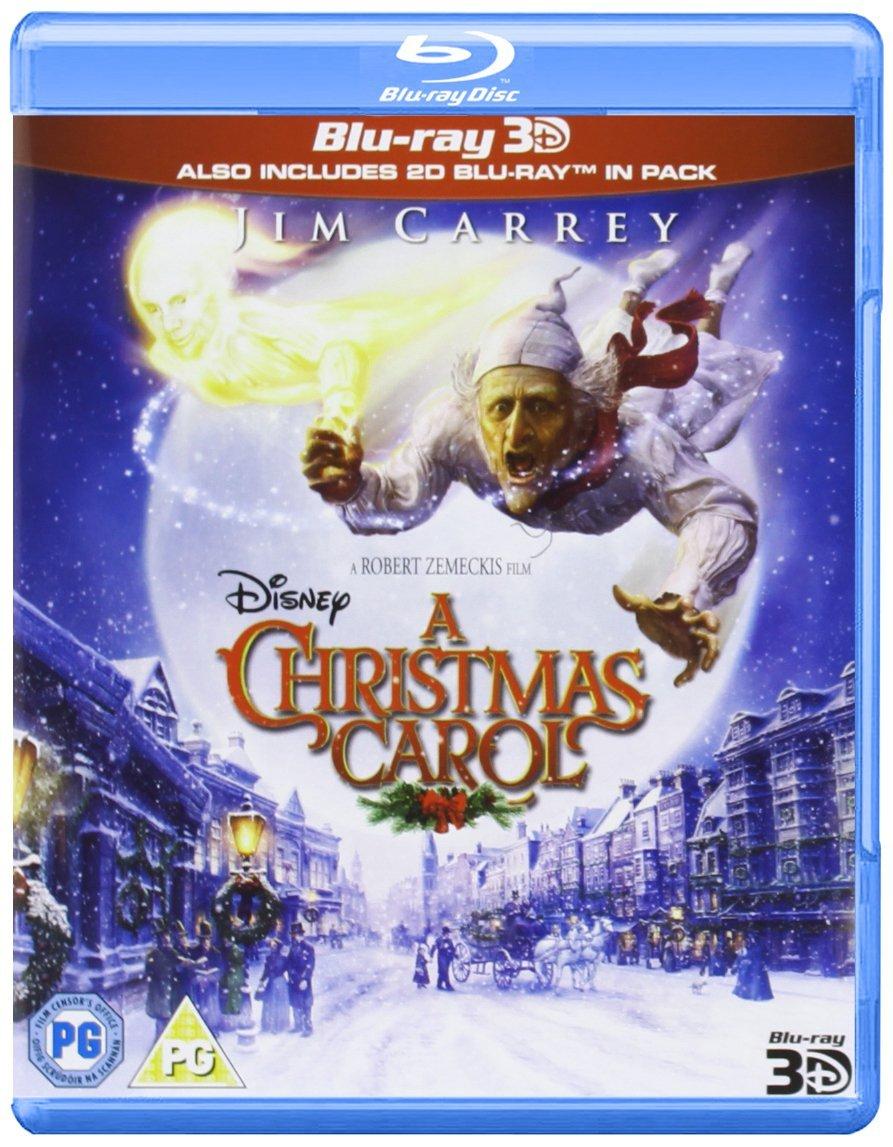 A Christmas Carol (Blu-ray 3D) [Region Free] | Xmas UK