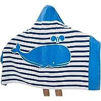 Comfysail 100% Baumwolle Kinder Kapuzen Handtuch Bade Badetuch für Jungen und Mädchen von 2-7 Jahren Strand 76 * 127cm
