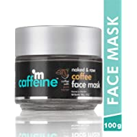 mCaffeine Naked & Raw Coffee Face Mask | Cocoa, Vitamin E | Tan Removal | Oily/Normal Skin | Paraben & Mineral Oil Free…
