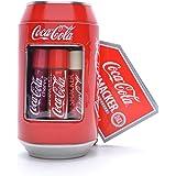 Lip Smacker - Coca-Cola Can Collection - Set di Burrocacao per Bambini - Vari Gusti Ispirati al Mondo Coca Cola - Iconica Lat