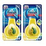 Finish Dishwasher Freshener Lemon 60's New Pack Of 2