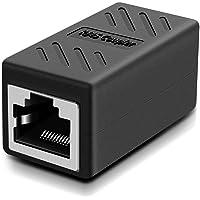 Csecurity RJ45 Inline Coupler Cat7/Cat6/Cat5e Ethernet Network Cable Extender Connector