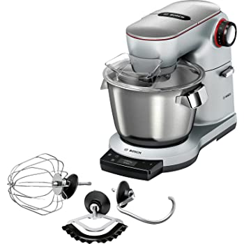 Amazon.de: Bosch MUM9AX5S00 OptiMUM Küchenmaschine (1500 W, 3 Profi ...