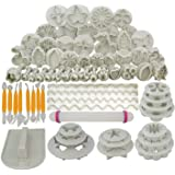 Other 68Pcs Fondant Cake Decorating Modelling Tools Set Diy Sugar Craft Cake Decorating Fondant Cutters