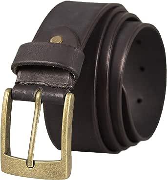 Zerimar Belt for Men   1.5 inch Belts for Men   Leather Belt for Men   Men Belt Buckle