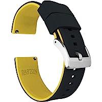 Barton Elite Bracelet de montre en silicone à libération rapide Couleur au choix 18 mm, 19 mm, 20 mm, 21 mm, 22 mm, 23…