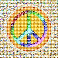 Games - Ceaco - 300 Piece Oversized EMOJI Peace Kids New Toys 2227-2