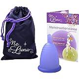 Me Luna Coupe menstruelle Sport, manche, bleu/violet, taille XL