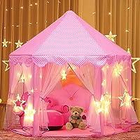 KIDUKU® Tenda gioco per bambini Castello di gioco Principessa Pop Up Blu