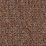 Teppichboden Auslegware | Schlinge gemustert | 400 und 500 cm Breite | hell-braun | Meterware, verschiedene Größen | Größe: 2,5 x 4m