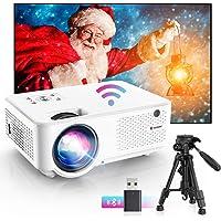 Bomaker Vidéoprojecteur WiFi Portable 7000 Native 720P HD Projecteur 1080P Soutien Retroprojecteur Home Cinéma 300…