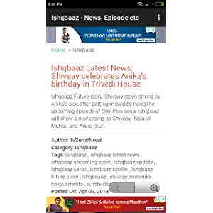 Ishqbaaz: Amazon co uk: Appstore for Android