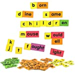 MFM TOYS English Language Word Family Kit (Vocabulary Enhancing) ~ 94 Magnetic Tiles | (Does not include magnetic board)