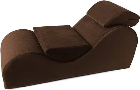 Liberator Esse Sensual Lounge Chair, Espresso Velvish