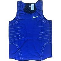 Nike Pro Elite 2001 Track & Field Running Race Day Singlet Medium Blue