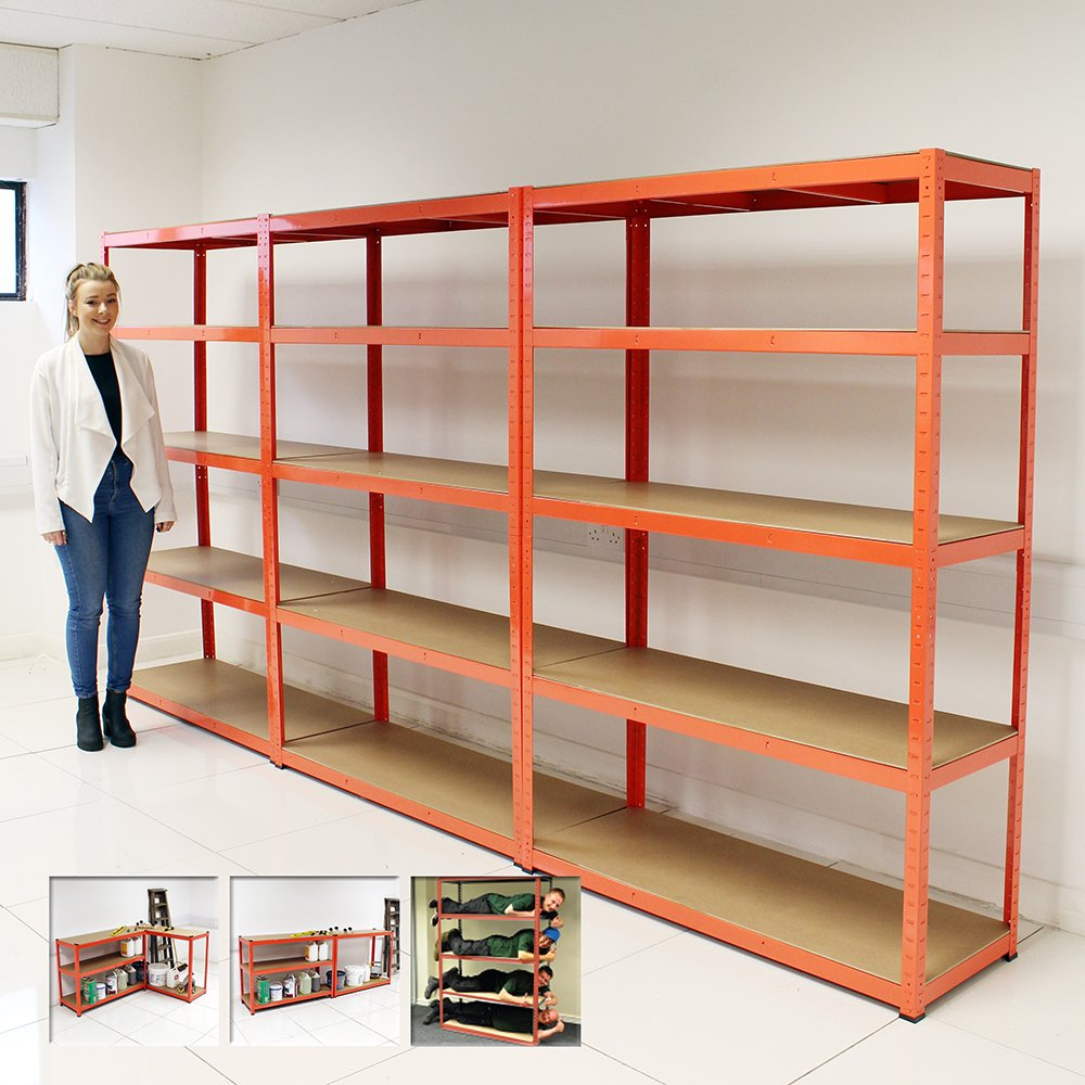 100 Industrial Shelving Commercial Heavy