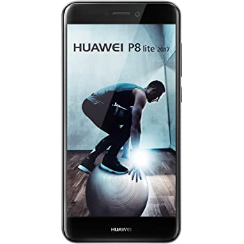 Huawei P8 Lite 2017 Smartphone (13.2 cm (5.2 Zoll) Full-HD Touchscreen, 16 GB, Android 7.0) black