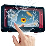 Shower Phone Case-Wall Mounted Phone Case-Bathroom Touch Screen Waterproof Mobile Phone Holder Box-Touchable Screen Wall Moun