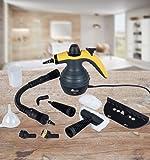 OVM POWER 1800 + Fensterwischer edition Handdampfreiniger Handdampfer Dampfente Dampfreiniger Steam cleaner (Fensterwischer edition)