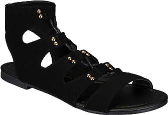 Mishoeco Women's Faux Leather Flats