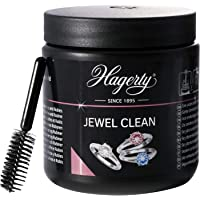 Hagerty Jewel Clean Jewellery Immersion Bath for Gemstones Gold Platinum 170 ml - Effective Jewellery Cleaner Diamonds…