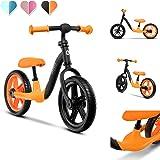 Lionelo Alex balanscykel barncykel upp till 30 kg sadel och styre justerbar 30 cm Eva skumhjul robust konstruktion slagbegrän