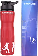 Strauss Stainless-Steel Water Bottle, 750ml