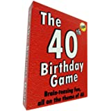The 40th Birthday Game - amusing little gift or present idea for anyone turning forty. Fun as a 40th birthday party icebreake