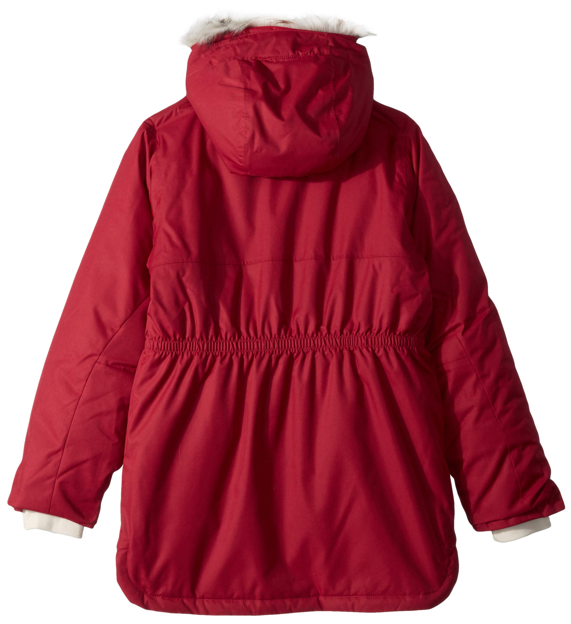 Columbia Girls' Mid-Length Waterproof Jacket, Carson Pass 2