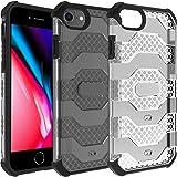 Restoo Funda de protección militar compatible con iPhone 7/iPhone 8/iPhone SE 2020, cuerpo completo, resistente, resistente a