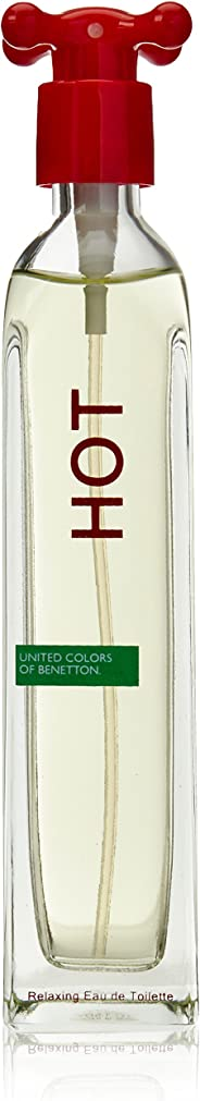 United Colors of Benetton Hot - perfumes for women - Eau de Toilette, 100 ml