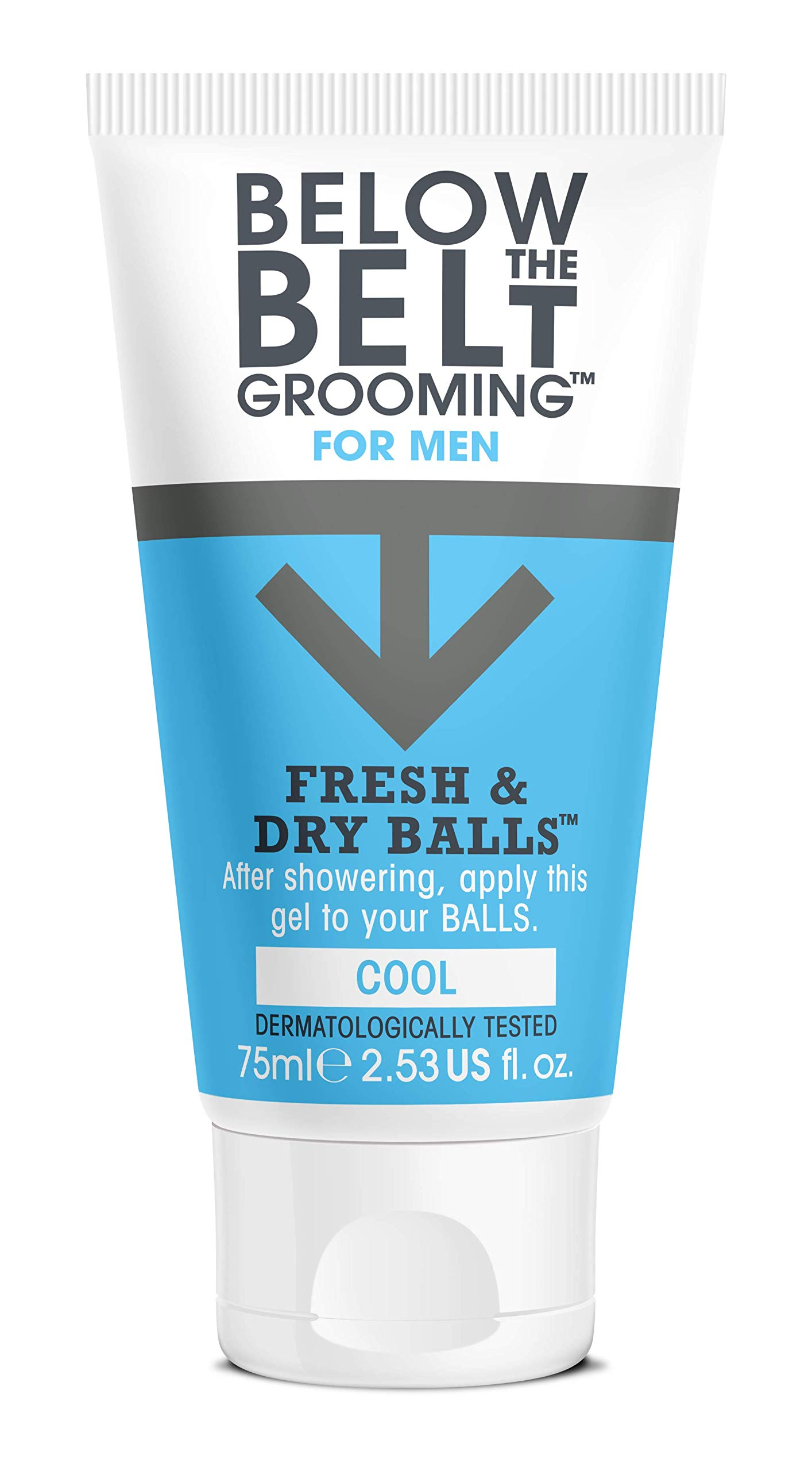 Below The Belt Grooming Fresh & Dry Balls – Cool – 75ml